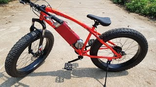 Download DIY Electric Bike - Power assisted bike at home Video