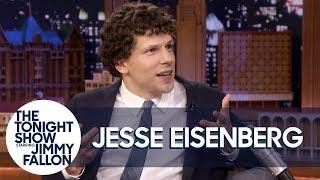 Download Jesse Eisenberg Unveils His Limited Edition Action Figure Video