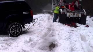 Download Nissan Frontier Stuck in Snow Radar Ridge Video