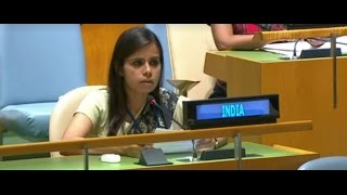 Download India's response to Pakistan PM's speech at the General Debate in United Nations General Assembly Video