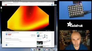 Download MicroPython & NeoPixel demoscene plasma with Tony D! Video