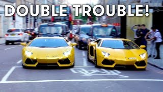Download Aventador invasion and Arab Supercars in London August 2017 Video