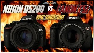 Download Nikon D5200 vs Canon T5i (700D) EPIC Shootout Comparison | Which Camera to Buy? Video