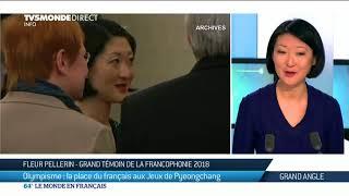 Download Fleur Pellerin : Grand Témoin de la Francophonie aux Jeux Olympiques de PyeongChang 2018 Video