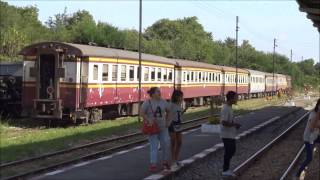 Download Thai - Burma railway (death railway) Kanchanaburi - Nam Tok Video