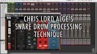 Download Chris Lord-Alge - Snare Drum Mixing Tutorial Using Slate Digital's VMR Video