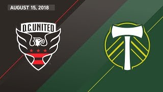 Download HIGHLIGHTS: D.C. United vs. Portland Timbers | August 15, 2018 Video