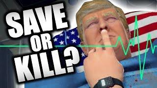 Download WOULD YOU KILL TRUMP?? (Surgeon Simulator - Part 8) Video