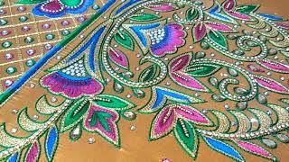 Download Maggam work latest designs/rafik(mo)7008574439)Godavarikhani markandeya Colony Gandhi Junior College Video