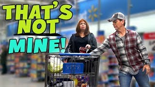 Download How much stuff can I sneak into their shopping carts? Video