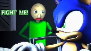 Download SFM BALDI'S BASICS VS SONIC Animation! Video