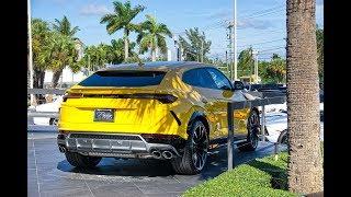 Download 5 Lamborghini URUS Delivered to Lamborghini Miami The World's Best SUV Interior Exterior Video
