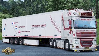 Download ✅ ETS2 1.31 - DAF XF105 by Stanley & Trailerpack + ALL DLC´s ready Video