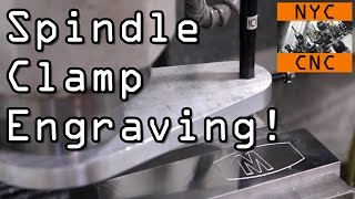 Download Tormach CNC Spindle Clamp Engraving! Widget54 Video
