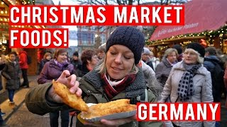 Download FOODS TO EAT AT A GERMAN CHRISTMAS MARKET! Video