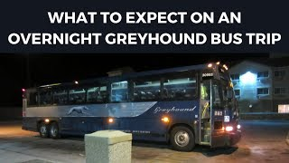 Download Overnight Greyhound Bus Trips | What To Expect Video