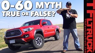 Download True or False? Does Toyota's ECT Transmission Button Make The Truck Quicker? Video