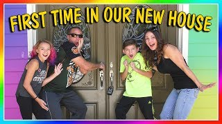 Download FIRST TIME SEEING OUR NEW HOUSE! | EMPTY HOUSE TOUR | We Are The Davises Video