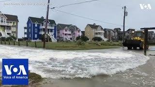 Download North Carolina Braces for Hurricane Florence Storm Surge Video