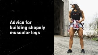 Download Brigette Goudz | Advice for building shapely muscular legs Video