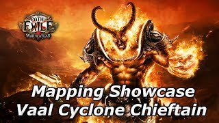 Download Path Of Exile 3.3 - Vaal Cyclone Chieftain Mapping Showcase - Spinning My Way Through The Atlas Video