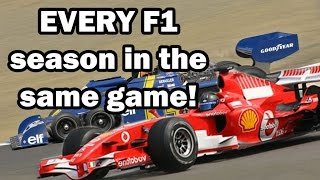 Download Every F1 Season in One Game! F1 1950 - 2016, all cars and all tracks from 66 years! Video