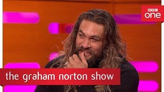 Download Jason Momoa from Game of Thrones speaks Dothraki - The Graham Norton Show: 2017 - BBC One Video