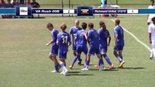 Download [Highlight] VA Rush 00B vs Richmond United U15/16, 08-21-2016 Video