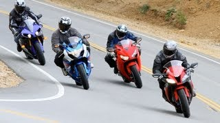 Download 2012 Japanese Superbike Shootout - Road Test Video