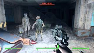 Download Fallout 4 glitch: Nick Valentine, pacifist Video