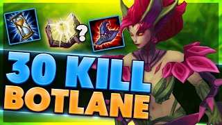 Download WHAT IS THIS INSANE DAMAGE | DRAGON VS BARON | FULL AP ZYRA SUPPORT | BunnyFuFuu Video
