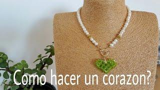 Download CORAZON CON CRISTALES!! Con Cecy Love Bisuteria. Video