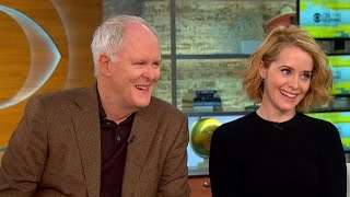 Download Lithgow and Foy on new royal drama, ″The Crown″ Video