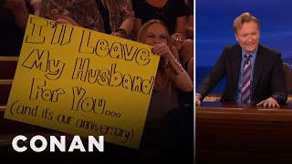 Download The Audience Lady With A Crush On Conan - CONAN on TBS Video