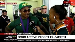 Download RWC Trophy tour   Boks will tour Port Elizabeth on Sunday Video