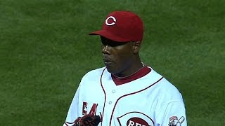 Download Chapman hits 106 MPH in relief appearance Video