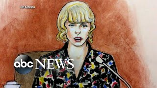 Download Taylor Swift takes the stand in former radio DJ groping trial Video