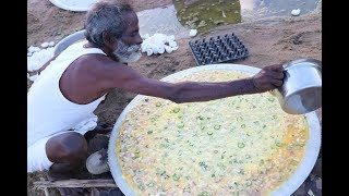 Download KING of BIG OMELETTE / Village food factory Video