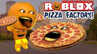 Download Roblox: PIZZA FACTORY TYCOON - Stealing Customers! 🍕🍕 [Annoying Orange Plays] Video