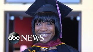 Download 'Hidden America' UPDATE: Student from struggling HS beats odds, graduates college (Nightline) Video