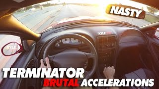Download Terminator Cobra POV LOUD Eaton Supercharger Accelerations! Video