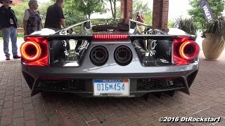 Download 2017 Ford GT Startup, load up Video