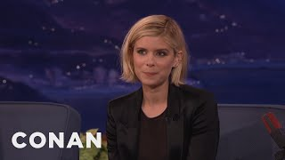 Download Kate Mara's British Boyfriend Accidentally Dented The Vince Lombardi Trophy - CONAN on TBS Video