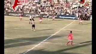 Download مباراة تاريخية الشوط الثاني من الاهلي وجمهورية شبين الكوم موسم 95-96 وهدف تاريخي لرضا عبد العال Video