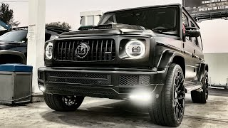 Download #RDBLA FIRST BRABUS 2019 G WAGON USA, VORSTEINER 720S, V12 FERRARI's Video