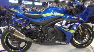 Download 2017 Suzuki GSXR 1000 with Yoshimura Exhaust @ Motorcycle Live 2016 Video