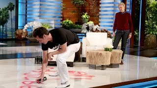 Download Jim Carrey Paints a Picture for Ellen Video