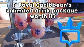 Download Is Royal Caribbean's unlimited drink package worth it? Video