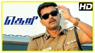 Download Theri movie   Vijay investigates IT girl missing   Rajendran   Mahendran   Azhagam Perumal Video