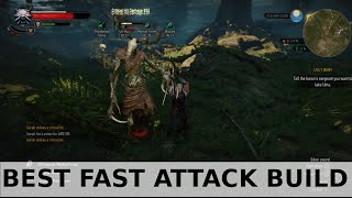 Download Witcher 3 - Best Fast Attack Build Video